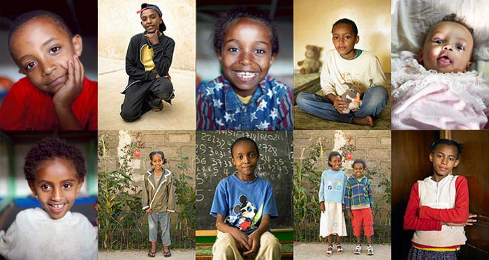 The children of Kidane Mehret